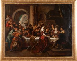 Flemish school of the 17th centuryAfter Peter Paul Rubens (1577-1640) Oil on copper79x100,5 cm
