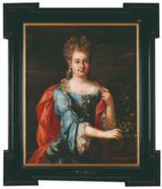 French school, 18th centuryA portrait of a lady Oil on canvas95x76 cm