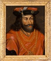 European school, 16th / 17th centuryPosthumous portrait of Otto Herzog von Sachsen Oil on canvas