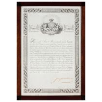 """A loan note by the Banco de LisboaBlack ink print on paper Numbered 464 and dated """"Lisboa 24"""