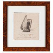 """D.Rodrigo de Souza Holstein's vigilLithograph on paper Inscribed: """"D. Rodrigo de Souza Holstein"""
