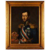Portuguese school, 19th century,João Baptista Ribeiro, Attrib.(1790-1868),Portrait of King Miguel I