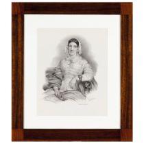 D. Eugénia Francisca Xavier Teles da Gama, first Duchess of Palmela (1798-1848)Lithograph on paper