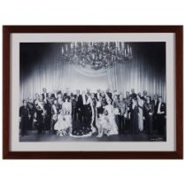 The coronation of Queen Juliana of the NetherlandsReprint of original photograph Portraying