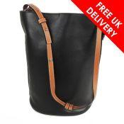 Loewe Gate Bucket Large Bag, Black