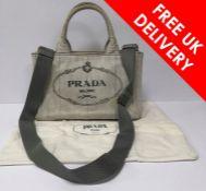 Prada 'Canapa Tote' bag, Used