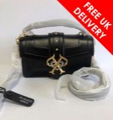 Pinko Double P Cross Body Mini Bag, Black