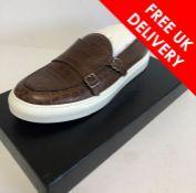 Billionaire Slip on Double B Mens Shoes, UK 10