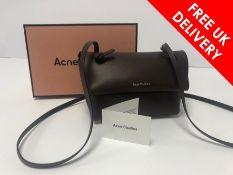 Acne Studios Mini Purse Crossbody Bag, Brown Leather