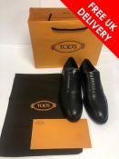 Tod's Mens Shoes, Francesina Fondo Cuoio, UK 9