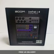 Live Track L-8 Mixer, Recorder, Podcaster