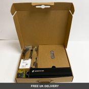 Sennheiser SL HANDHELD SET DW-3-UK R SpeechLine Handheld Set Wireless Microphone Set, 505895