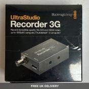 Two Blackmagic Design UltraStudio Recorder 3G