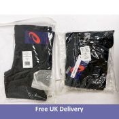 A bundle of Asics Men's Clothing to include Tights and a Jacket