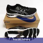 Asics GT 2000 9, Men's Running Shoe, Black and White, UK 9