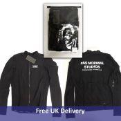 Pas Normal Studios Men's Jersey Long Control, Black, Size M