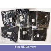 A bundle of Asics Men's Sport Clothing to include Sprinter Shorts and Baselayer SS Top