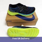 Asics Men's Gel Nimbus Lite 2 Road Running Shoe, Reborn Blue and Black, UK 8.5