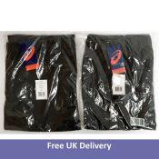 Two Asics Men's Sport Woven Pant, Dark Grey, Size XXL