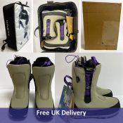 Mine77 Danny's Double Tongue Boot, Men's, Blue, UK 9