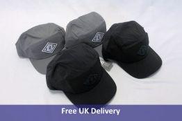 Four Fox FlexFit Hats, One Size