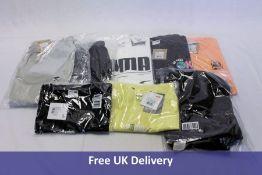 Eight items of Puma clothing