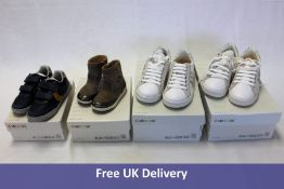 Four Geox footware products