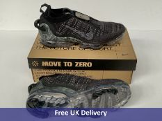 Nike Air VaporMax 2020 Flyknit Trainers, Black & Dark Grey, Men's, UK 8.5
