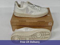 Veja V-12 Leather Sneaker, Extra White, Women's, UK 5