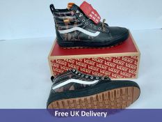 Vans Sk8-Hi MTE 2.0 DX Trainers, Men's, Black, Brown & White, UK 10.5