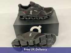 On-Running Cloudflyer Waterproof Trainers, Women's, Black, UK 7