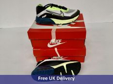 Two Pairs of Nike Child's Air Max 2090 Trainers, UK 1.5
