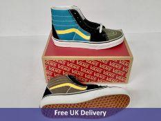 Vans Women's Hi-Tops SK8-HI Trainers, Multicolored, UK 6