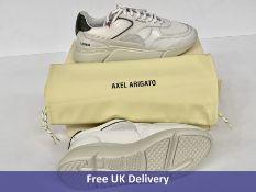 Axel Arigato Women's Genesis Triple Running Trainers, Pink, Grey & White, UK 3.5