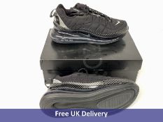 Nike MX 720 818 Trainer, Black, Men's, UK 8