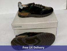 Geox Men's U Grecale A Sneaker, Mimetic, UK 9