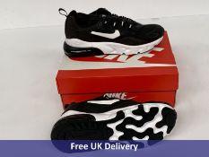 Nike Child's Air Max 270 RT PS Trainers, Black & White, UK 2.5