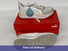 Puma Unisex Adults X-RAY Game Sneaker, White, Gray & V-Rosewater, UK 4