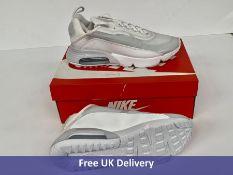 Nike Air Max 2090, Men's, Triple White, UK 8.5