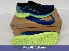 Asics Men's Gel Nimbus Lite 2 Road Running Shoe, Men's, Reborn Blue & Black, UK 9.5