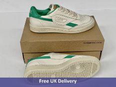 Saye Unisex Modelo '89 Trainers, Green, Women's, UK 5.5