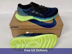 Asics Men's Gel Nimbus Lite 2 Road Running Shoe, Reborn Blue & Black, UK 9
