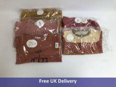 Five items of Bonnet a Pompon Kids Sweaters, Age 6