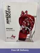CYBEX Priam Seat Pack by Jeremy Scott, Petticoat Red