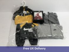 Boy's Nike and Jordan, Baby and Toddler Clothes Mixed Sizes From 3-6 Months to 2 Toddler