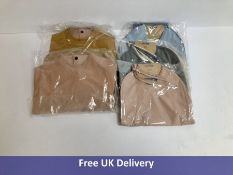 Five sets of Liewood Two Pack Recylced Baby Bibs