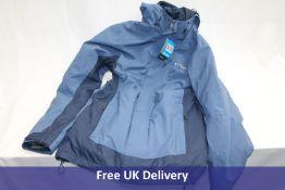 Columbia Omni-Tech Lhotse III Interchange Jacket, Blue, Mens Small