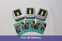 Three AlbumSaver USB Memory Stick