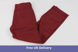 True Religion Basic Pants, Red, Waist 32