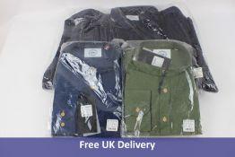 Three Kronstadt Dean Henley Men's Shirts, Size 3XL